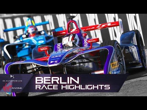 Formula E Berlin E-Prix Race Highlights! (DS Virgin Racing S4 R9)
