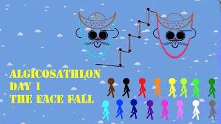 Algicosathlon Day 1 - The Face fall