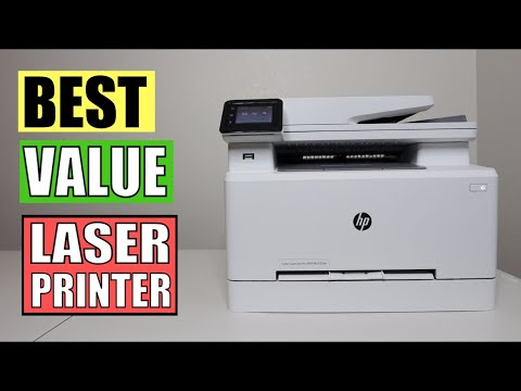 HP Color LaserJet Pro M283fdw Wireless All-in-One Laser Printer Review and Demonstration | Amazon