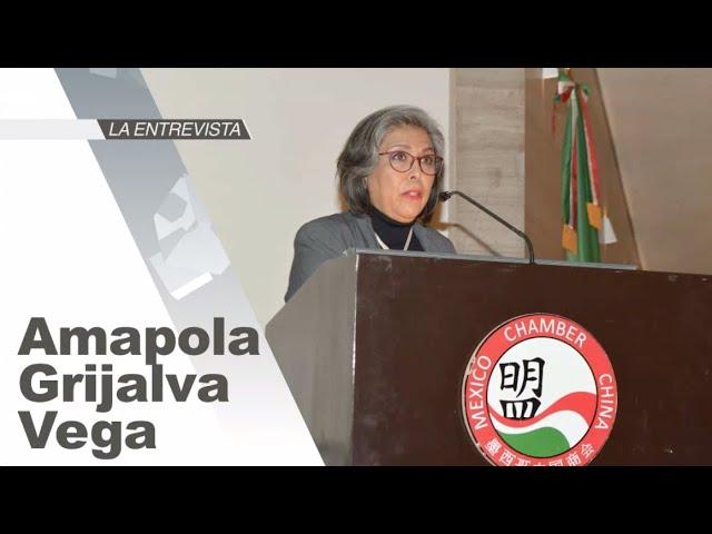 La Entrevista: Amapola Grijalva Vega, Presidenta Ejecutiva de la Cámara de Comercio México–China