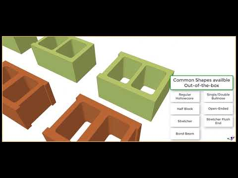 BIM for Masonry in Tekla Structures