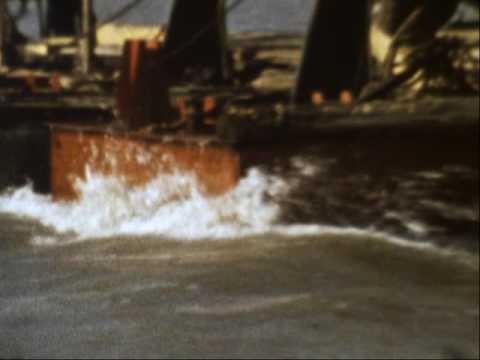 Рудня. 70-е годы. Паром