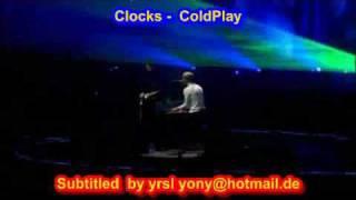 ColdPlay  - Clocks ( SUBTITULADO INGLES ESPAÑOL )