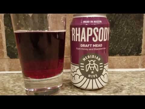 Rhapsody Draft Mead Blackberry Review