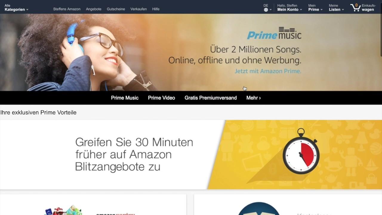 Amazon Prime Familienmitglied Hinzufügen