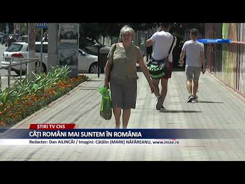 CÂȚI ROMÂNI MAI SUNTEM ÎN ROMÂNIA