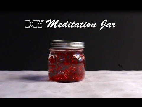 DIY Meditation Jar