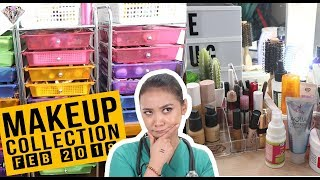 MAKEUP COLLECTION | March 2018 | #Kagulo