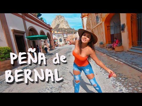 PEÑA DE BERNAL qué hacer?  Pueblo Mágico de Querétaro | Comida, artesanías, hoteles, tips