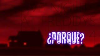 ¿Porqué En Five Nights At Freddy's 4 Jugamos En Una Casa? | FNAF 4 thumbnail