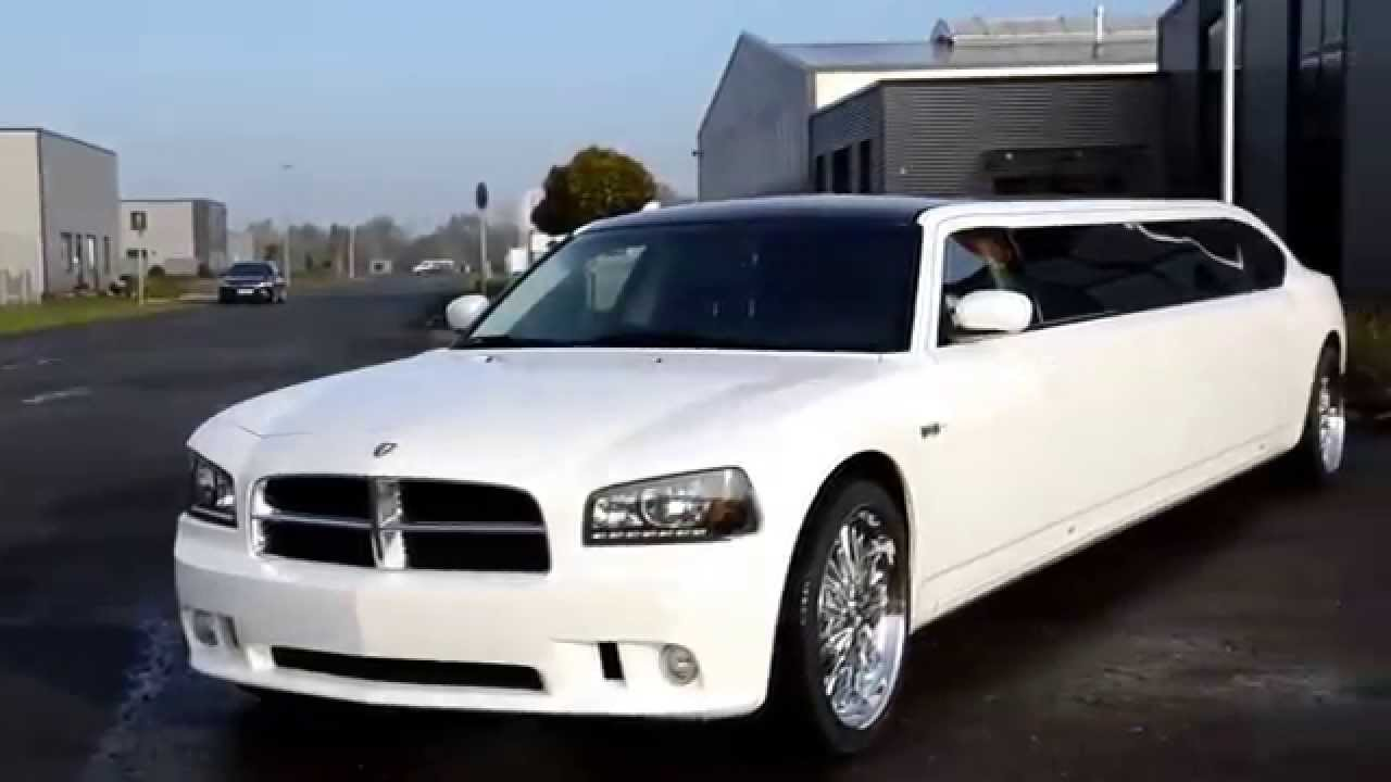 Mylimo Deluxe Dodge Charger Perlweisse Stretchlimousine Youtube