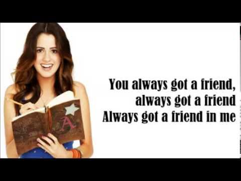 Me and You-Laura Marano (Lyrics Video)