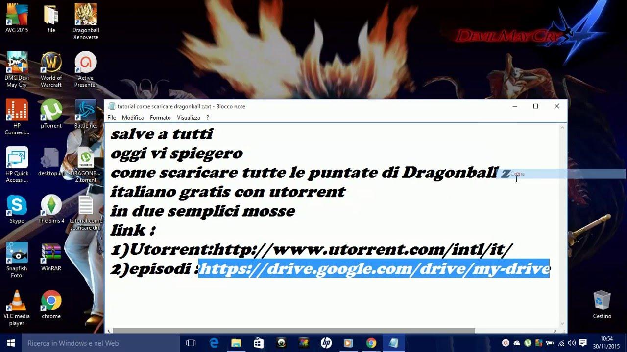 SCARICA LE PUNTATE DI DRAGON BALL Z IN ITALIANO