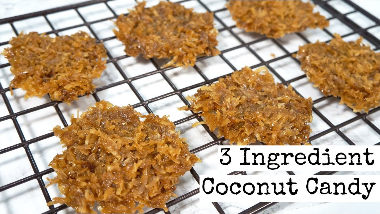Easy Vegan Coconut Candy