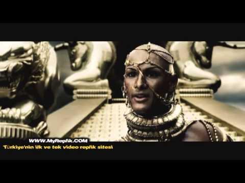 300 Spartalı ~ Leonidas ve kserkses'in konuştuğu sahne