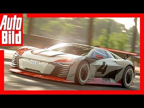Audi e-tron Vision Gran Turismo (2018) Details/Test/erste Fahrt