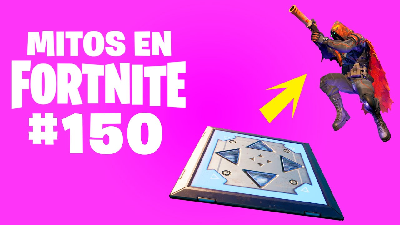 ¡SUPER SALTO! - Mitos Fortnite - Episodio 150 #MitosFortnite