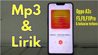 Cara Membuat Lirik/syair Lagu Di Hp Oppo / A3s,a5s
