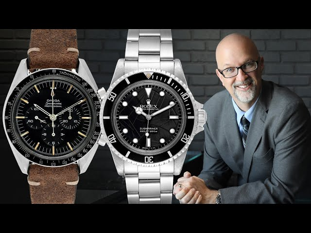 Best Vintage Watches Review: Omega Speedmaster, Rolex Submariner, Rolex Seadweller | SwissWatchExpo