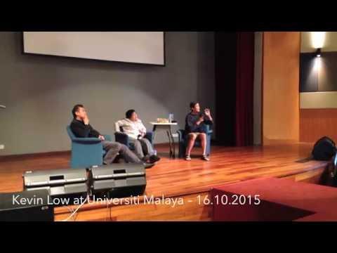Of heroes and cults – Kevin Low at Universiti Malaya, 16.10.2015
