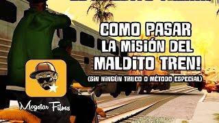 Cómo Pasar La Misión Del Maldito Tren Sin Trucos Youtube