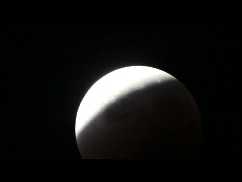Total Lunar Eclipse 31 Jan 2018: Webcast Part 1