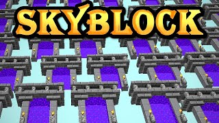 grinding Hypixel SkyBlock for your entertainment