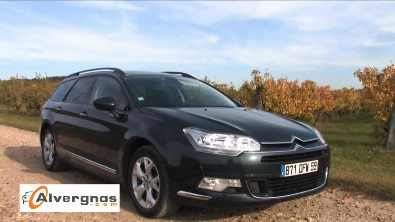 citroen c5 ii essai occasion youtube. Black Bedroom Furniture Sets. Home Design Ideas