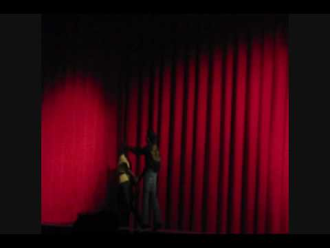 Front of Curtain Scene OMG