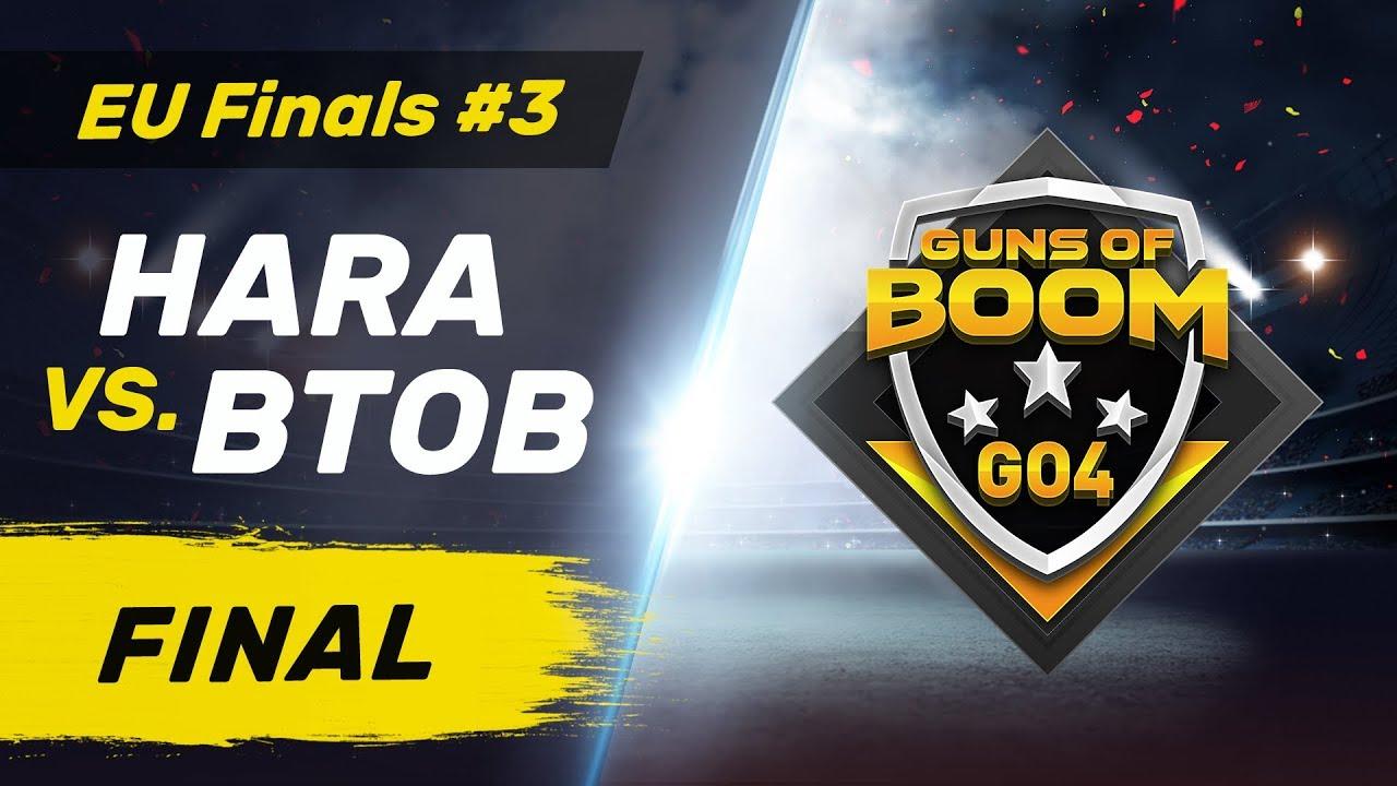 BTOB vs HARA - GO4 EU Finals #3 - Final