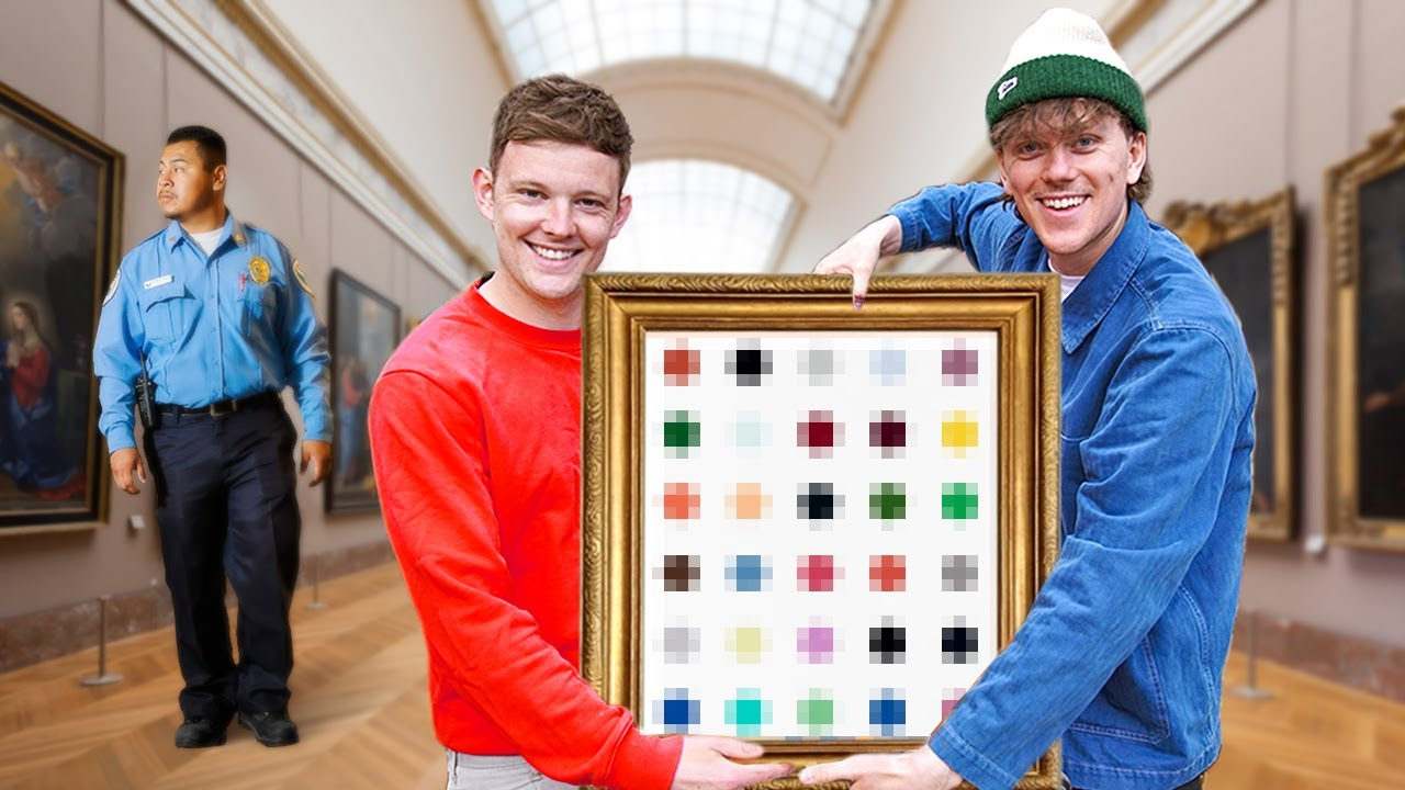 How We Stole £20,000 of Art
