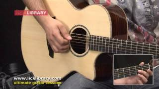 across the universe the beatles guitar lesson with tom quayle licklibrary