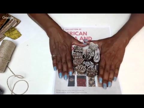 Global Ethnic Fabric Bundles for Book Arts...