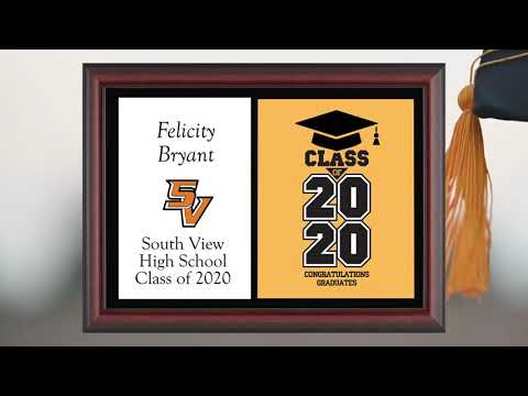 South View High School 2020 Graduation