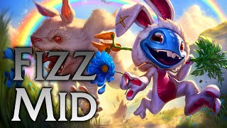 League of Legends | Cottontail Fizz Mid - Full Game Commentary