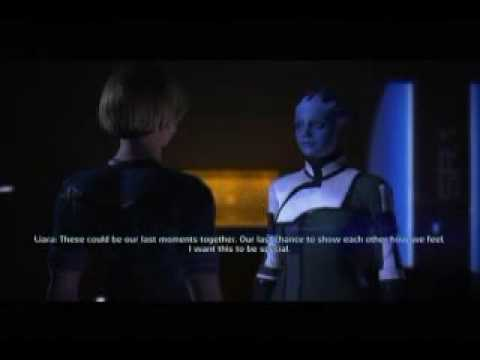 Mass Effect Lesbian Love Scene 9