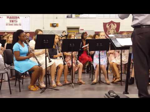 Hahira Middle School Band 4.20.17 6th great. 3rd number