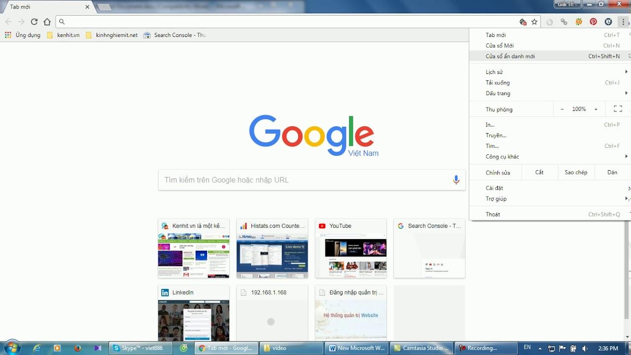 Chia sẻ cách khắc phục lỗi google chrome không vào được mạng