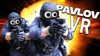 Multiplayer VR CSGO! - Pavlov VR Gameplay - HTC Vive VR