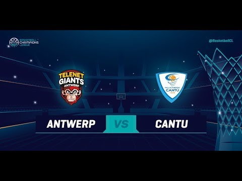 Telenet Giants Antwerp v Red October Cantu - Qualif. Rd. 2 - Basketball Champions League 2018
