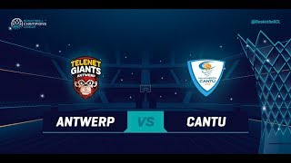 Telenet Giants Antwerp v Red October Cantu - Qualif. Rd. 2 - Basketball Champions League 2018-19 thumbnail