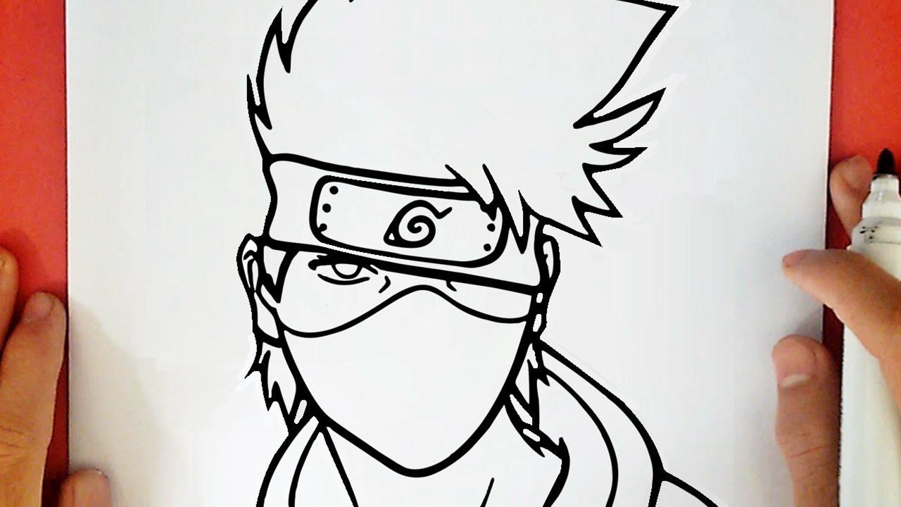Comment Dessiner Kakashi De Naruto