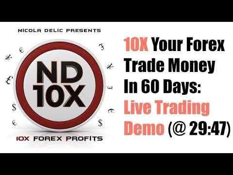 ND10X Review & Live Trading Proof Videos - 10X Your Forex Trade Money In 60 Days