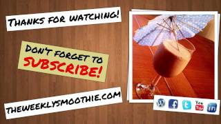 How To Make A Chocolate Chip Apricot Smoothie - The Weekly Smoothie #5