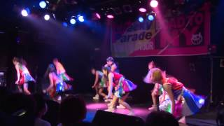 Cheeky Parade「NINE LIVES TOUR~ROAD TO NY~」Vol.1@darwin(仙台)