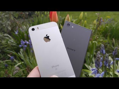 iPhone SE vs Sony Xperia Z5 Compact - Camera Comparison!