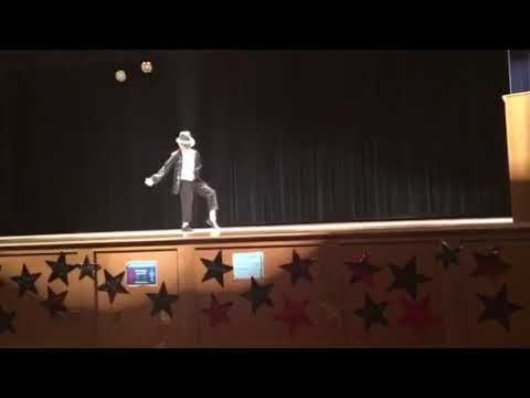 ME live doing Billie Jean at AM Kulp elementary school!