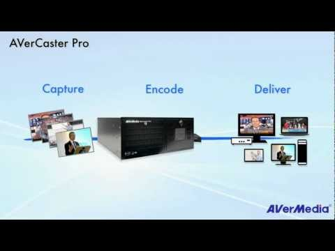 Live Video Streaming Solutions - AVerCaster Pro Introduction