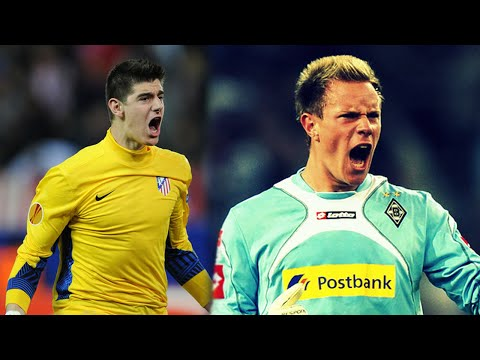 Marc-André Ter Stegen vs Thibaut Courtois  - Goalkeeper Saves Battle - || 2015 ||