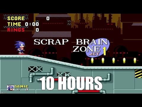 Sonic - Scrap Brain Zone Extended (10 Hours)